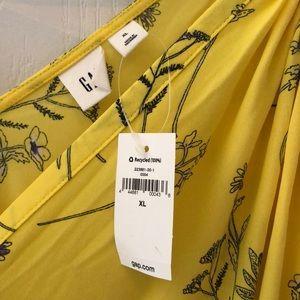 GAP Dresses - Yellow GAP maxi dress.